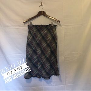 Old Navy Plaid Skirt Size Small